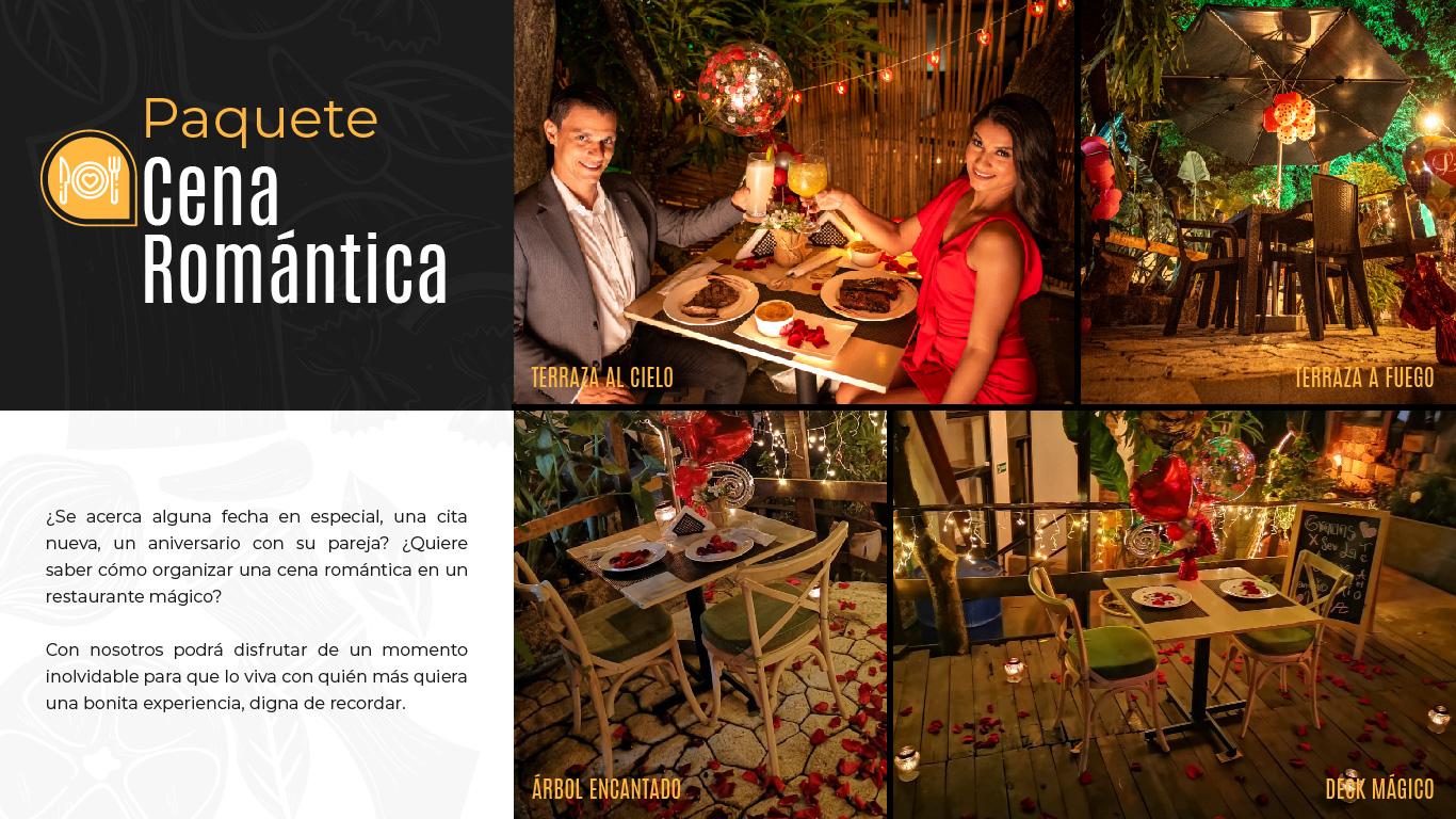 Restaurante Bar Afuego Paquete Cena Romántica